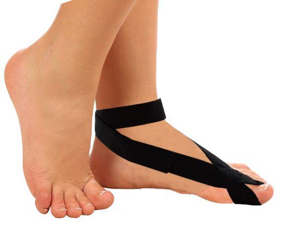 Бандаж для большого пальца ноги своими руками